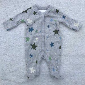 Gymboree Stars Sleeper Size Newborn NWT
